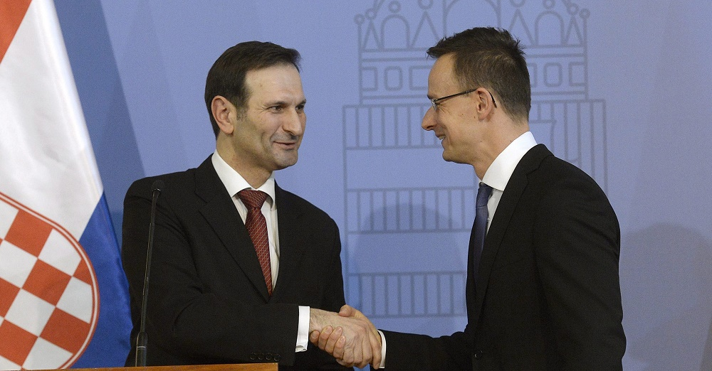 Hungary, Croatia To Restore Bilateral Ties As Foreign Ministers Hold Talks In Budapest post's picture