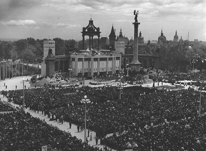 The 34th International Eucharistic Congress  was held in Hungary in 1938