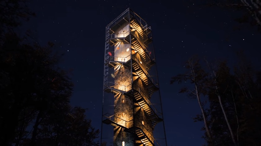 Room With A View: Stunningly Rebuilt Hungarian Lookout Tower Up For International Architectural Award post's picture
