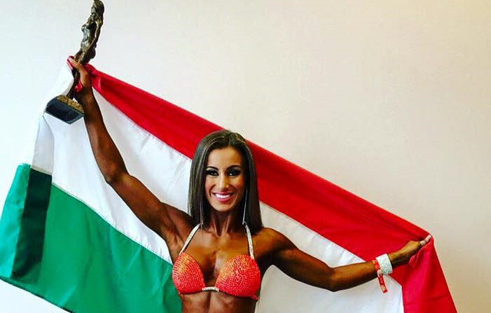 Hungarian Model Wins Gold Medal At Top US Competition Named After Arnold Schwarzenegger post's picture