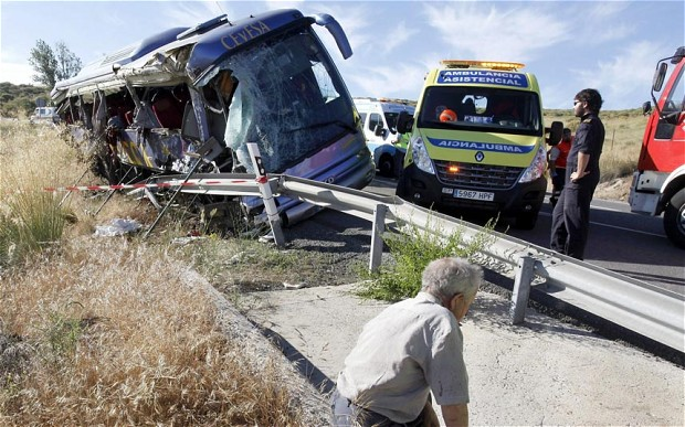 Three Hungarians Mildly Injured In Spanish Bus Crash Claiming Thirteen Lives post's picture