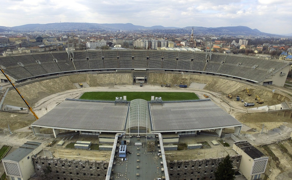 Reconstruction Works Of Hungary's National Football Stadium Begin post's picture