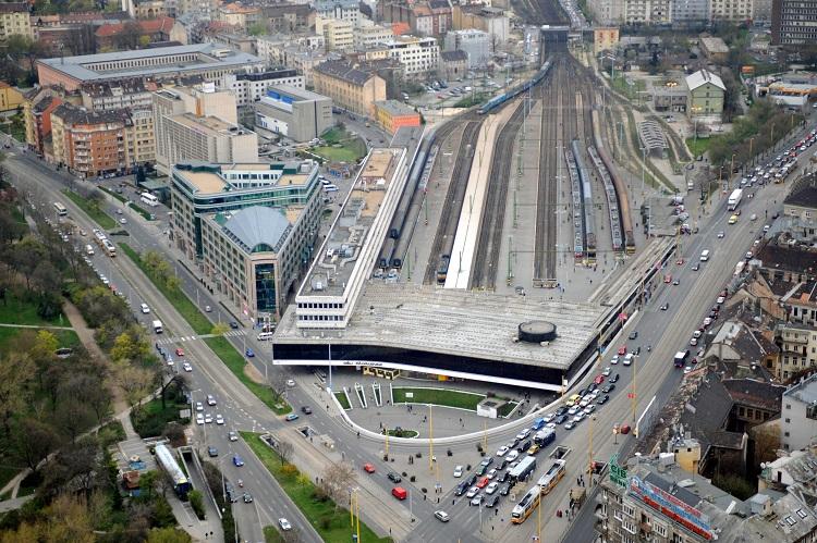 Budapest, 2008. április 5. A Déli pályaudvar és környéke Budapesten. MTI Fotó: H. Szabó Sándor
