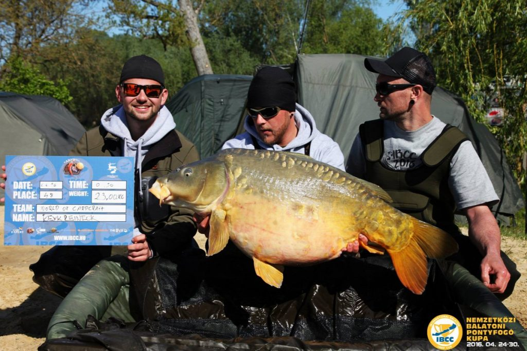 Balaton Carp Cup: German Angler Sets Record With Monster 23-Kilo Carp post's picture