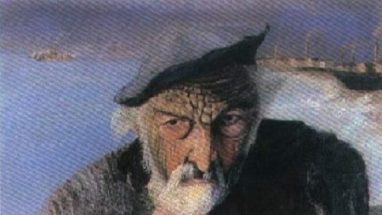 The Secret Of The Old Fisherman Shocking Hidden Message Found In - It painting