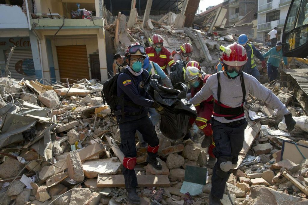 Hungarian Baptist Charity Sends Rescue Team To Earthquake-Hit Ecuador post's picture