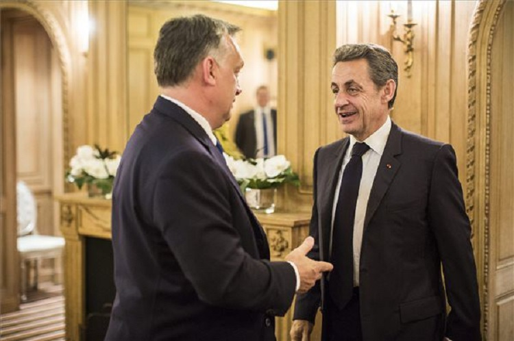 Orbán And Sarkozy Discuss European Issues In Paris post's picture