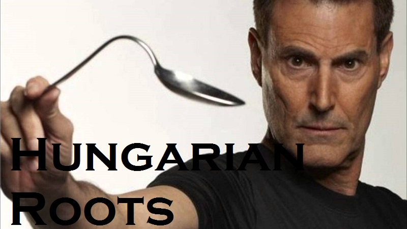 "Hungarian Roots: Uri Geller, The ""Spoon Bender"" post's picture"