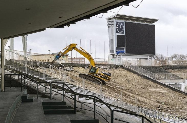 "Népstadi-Off: Budapest's Iconic ""People's Stadium"" Bulldozed post's picture"