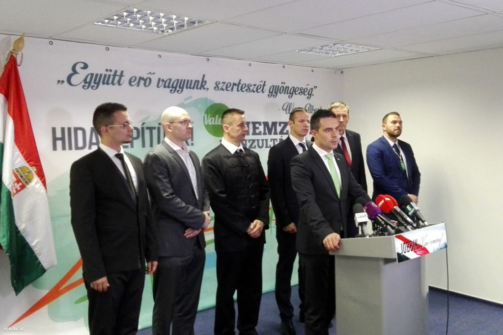 Jobbik Party Congress: Delegates Re-Elect Chairman As Group Seeks To Shed Extremist Past post's picture