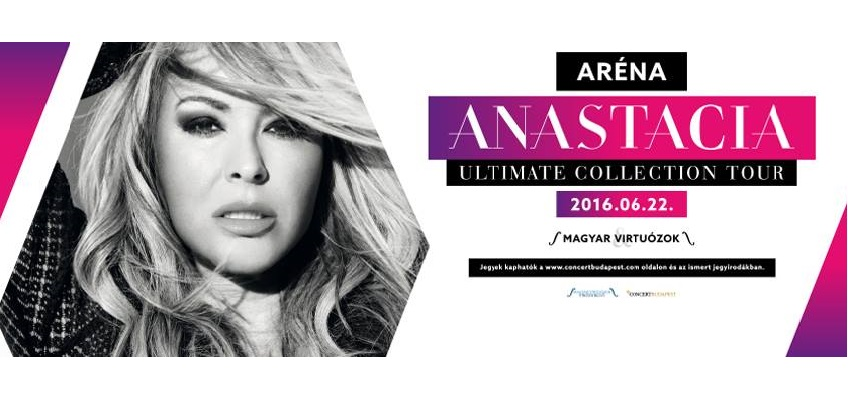 World Star Singer Anastacia Going To Sing In Budapest This Summer post's picture