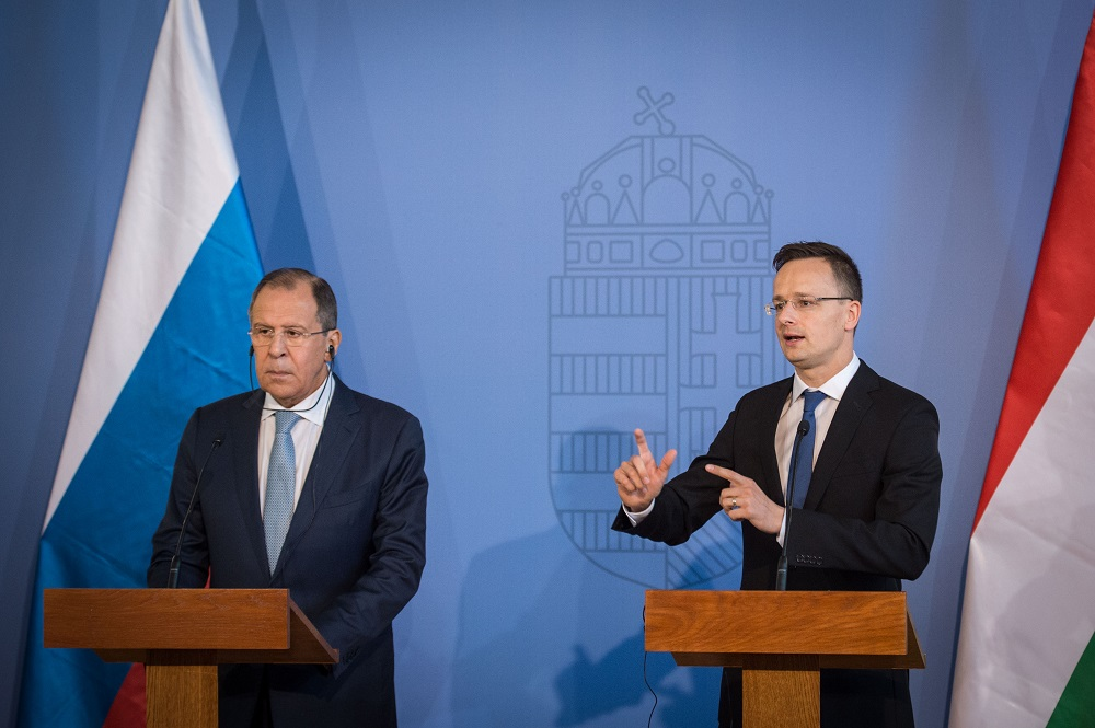"Lavrov's Budapest Visit: Hungary Urges ""Pragmatic Cooperation"" Between EU And Russia post's picture"
