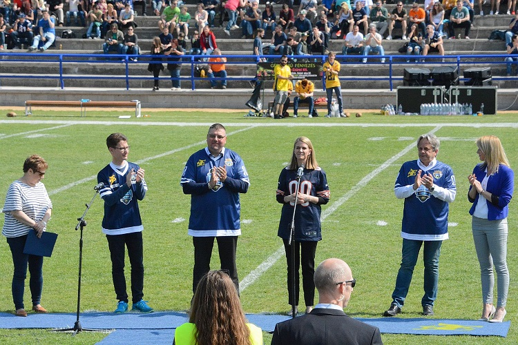 US Ambassador Opens Hungary's First Standard-Sized American Football Field post's picture