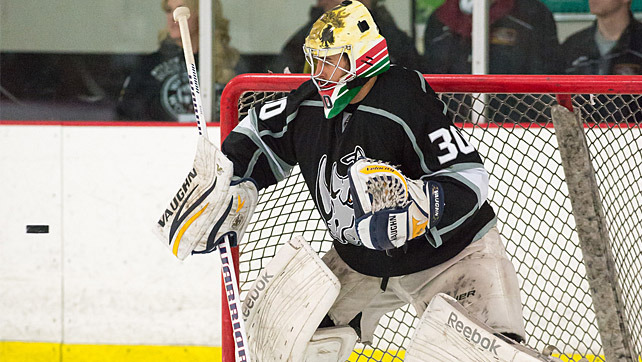 Ice Hockey 22 Year Old Goalie Becomes First Ever Hungarian To Be