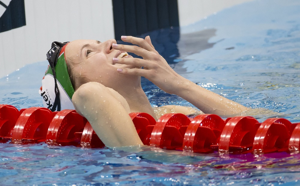Swimming: Hungary Grabs 10 Golden Medals In London As Boglárka Kapás Triumphs Once Again post's picture