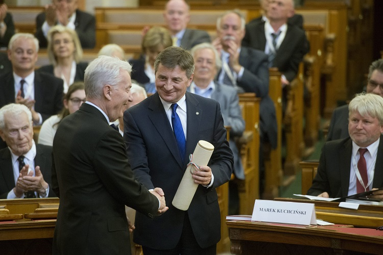 Polish House Speaker Named FoH Honorary Member As Friends Of Hungary Hold Conference In Budapest post's picture
