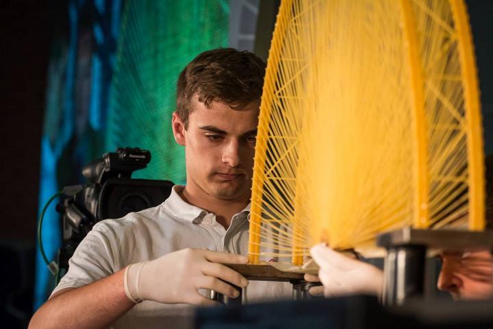 The Strength Of Pasta – Spaghetti Bridge Building World Championship 2016 At Óbuda University post's picture