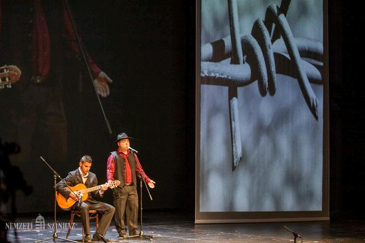 371 Stars: Roma Holocaust Remembered In Hungarian National Theatre post's picture
