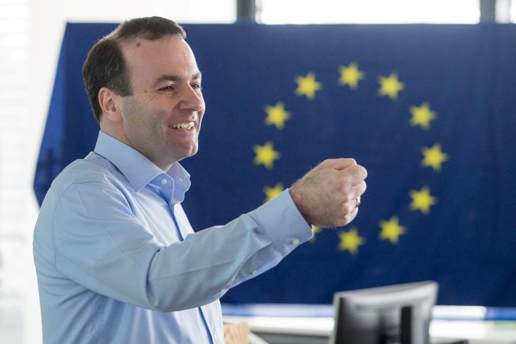Weber: Merkel and I Determine the Political Direction of the EPP, Not Orbán post's picture