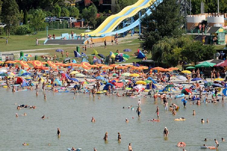 Időjárás - Hőség - Kánikula a Balatonnál