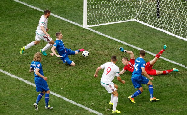 """Euro2016: French Newspaper Hail """"Ingenious"""" Hungarian Fans After Draw With Iceland post's picture"""