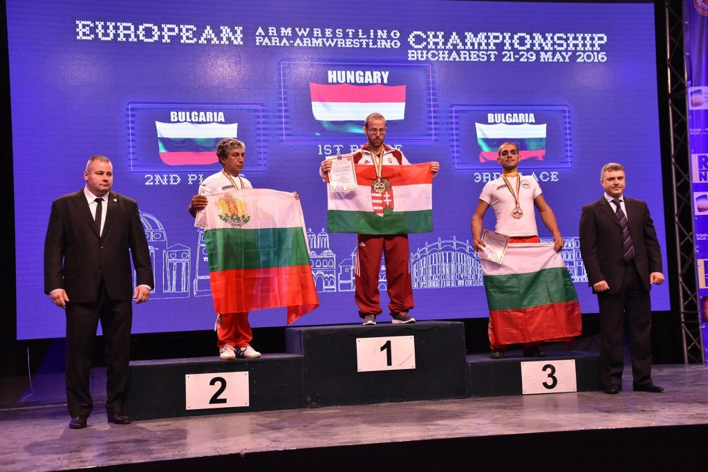 Armwrestling: Hungarians Collect Medals In Bucharest Ahead Of World Championships In Hungary post's picture