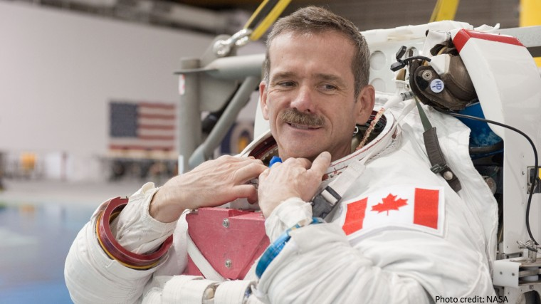 Famed Astronaut Chris Hadfield Lands At The Brain Bar In Budapest post's picture