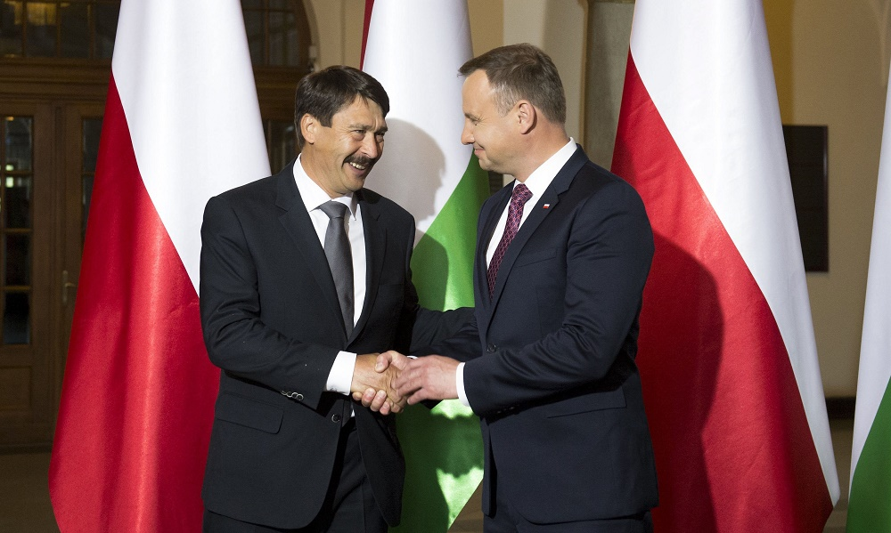 Polish President Congratulates President Áder on National Holiday post's picture