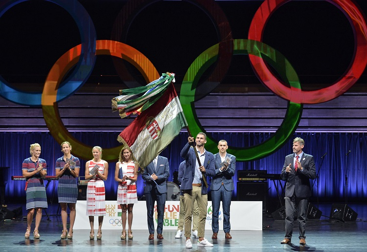 Delegation Of Hungarian Olympic Athletes Took Oath Ceremony For Rio 2016 post's picture