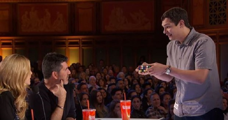 Meanwhile In America's Got Talent: Rubik's Cube Blows Up Minds post's picture