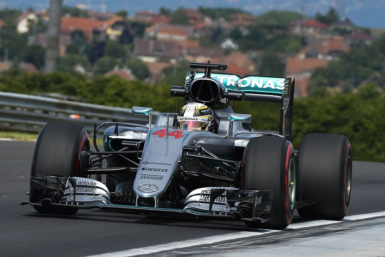 Formula 1: Hamilton Fastest In Opening Training As Hungarian Grand Prix Kicks Off On Friday post's picture