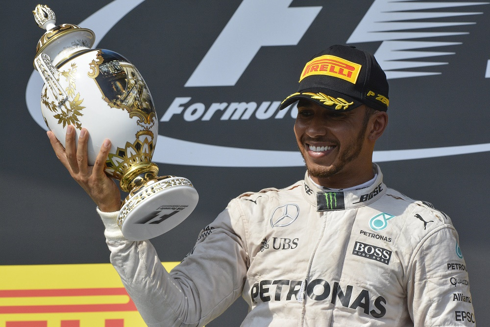 Formula 1: Hamilton Triumphs In Hungarian Grand Prix To Earn Six-Point Advantage Over Rosberg post's picture