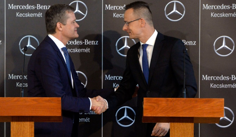 Mercedes -Benz To Create 2500 New Jobs In EUR 1bn Investment At Hungarian Plant post's picture