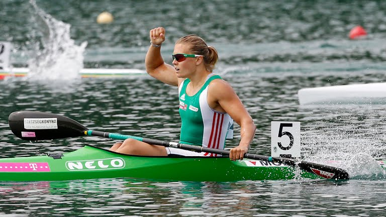 Hungary Wins Seventh Rio Gold As Kayaker Danuta Kozák Triumps Over Field In 500m Individual post's picture