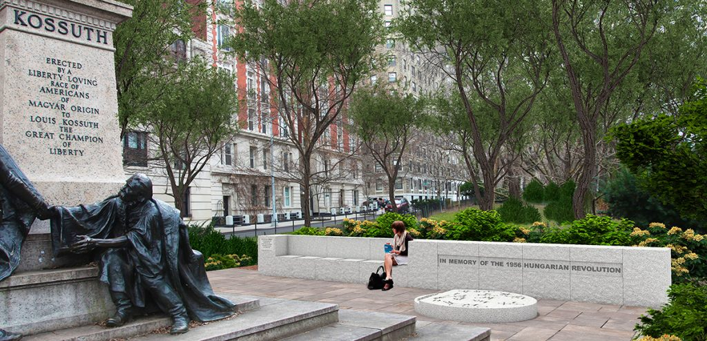 Hungary Erects Memorial In Manhattan To Mark 60th Anniversary Of The 1956 Revolution post's picture