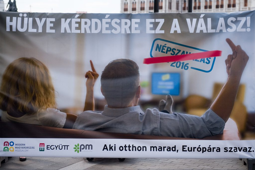 Left-Wing Parties Give Migrant Referendum The Middle Finger In Joint Campaign post's picture