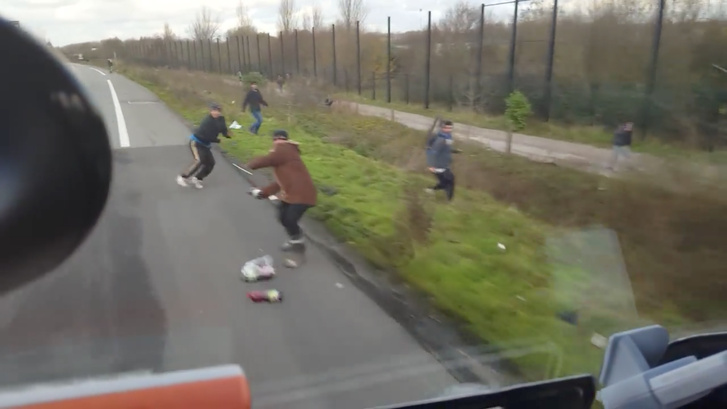 Hungarian Trucker Who Swerved Lorry At Migrants In Calais Faces Suspended Jail Sentence post's picture