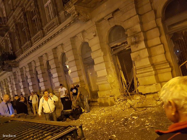 Explosion In Budapest Brutally Injures Two Officers As Police Launch Nationwide Manhunt post's picture