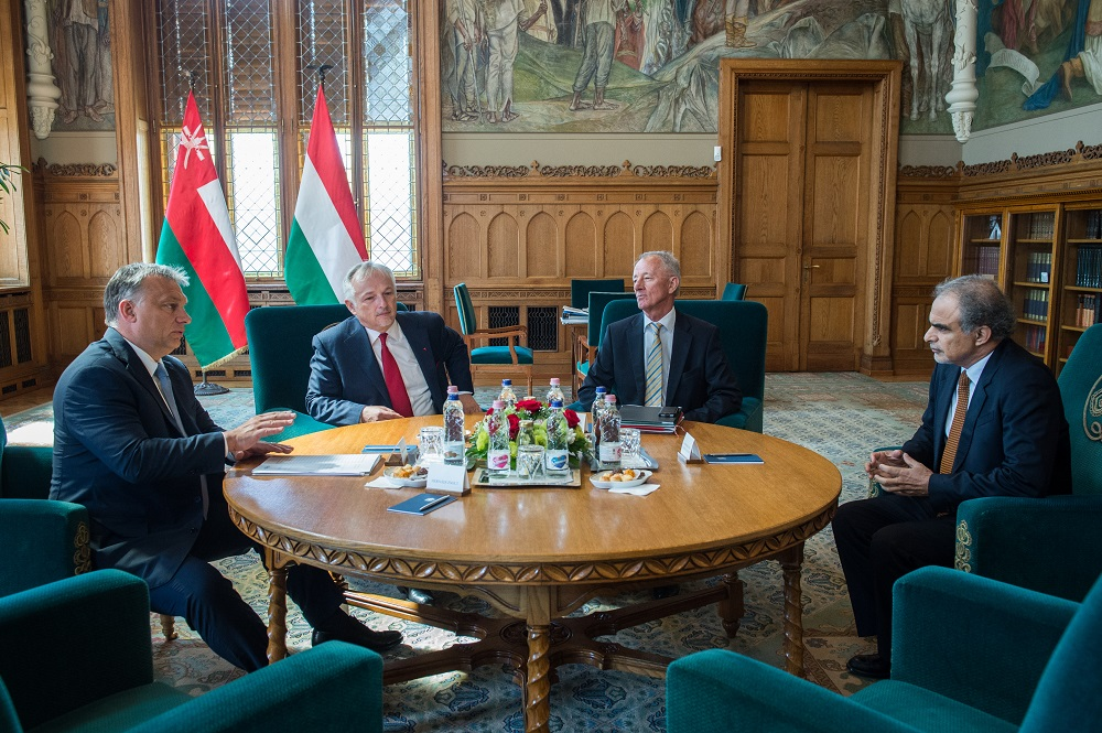 Hungarian PM, MOL Chief Hold Talks With Oman's Oil and Gas Minister In Budapest post's picture