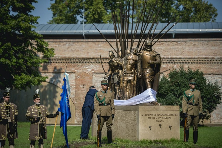 Inauguration of the Zrinyi statue to remember to 16th century Hungarian heroes of Szigetvár post's picture