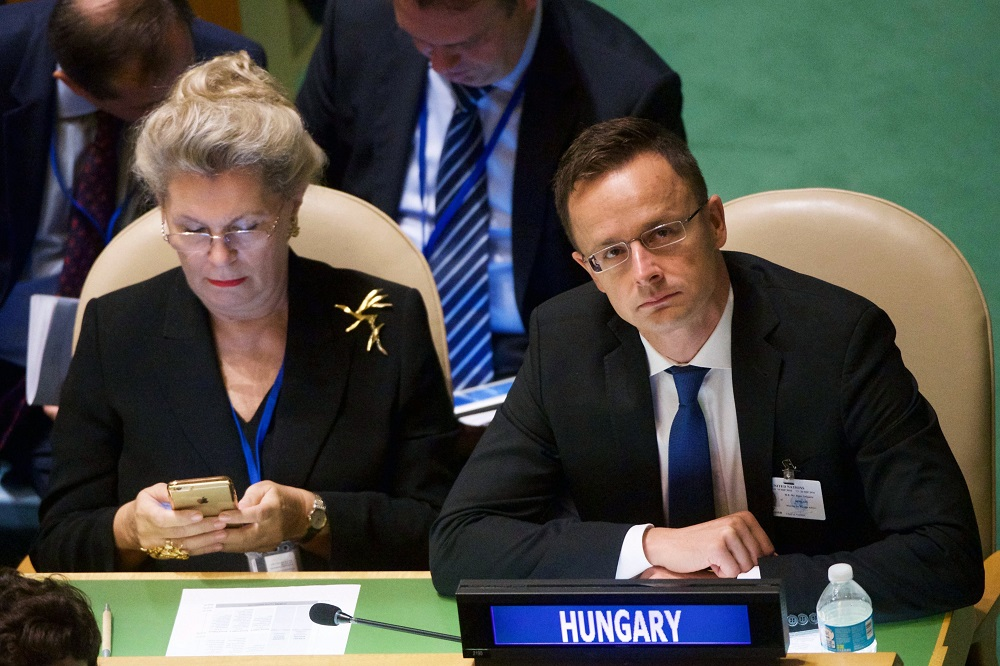 Hungary Submits Six-Point Proposal At United Nations' Migration Summit In New York post's picture