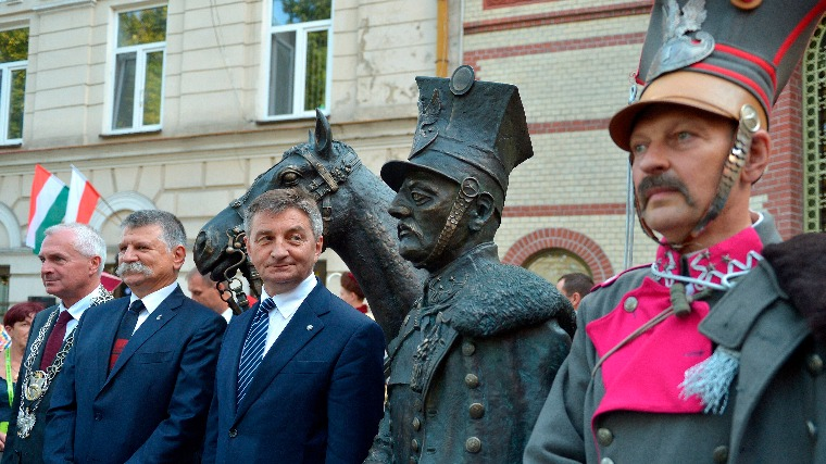 First World War Centenary: Monument Of Hungarian Hussar And Polish Lancer Unveiled In Przemyśl post's picture