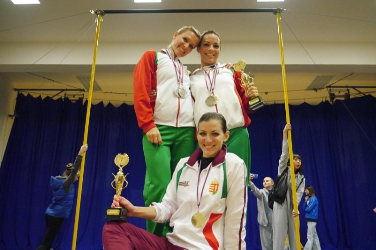"""Sweeping Triumph Of The Hungarian """"Dancers"""" On European Pole Sport ChampionshipIn Prague post's picture"""