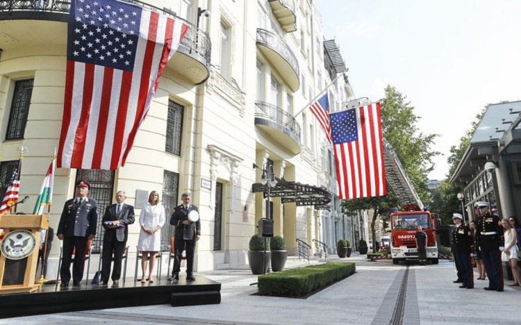 Commemoration Of The 9-11 Terrorist Attacks Was Held In Budapest post's picture