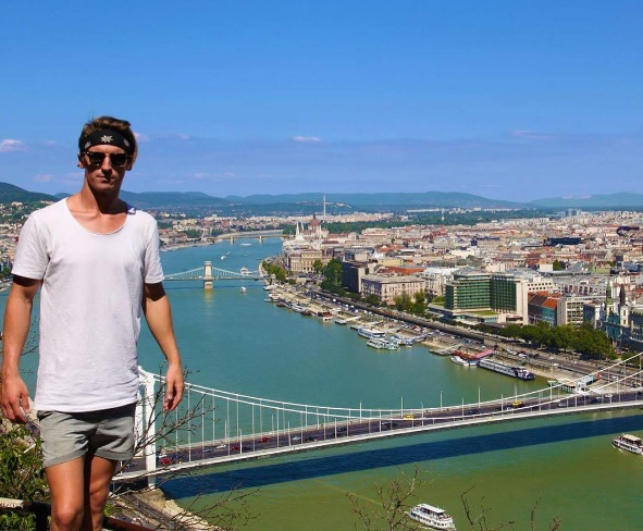 Interesting Hobbies: Backflip From The Erzsébet Bridge Of Budapest post's picture