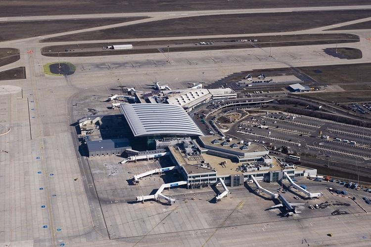 Aeroporto Budapest : Expansion of terminal b at liszt ferenc airport budapest