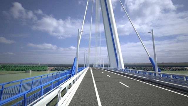 Plans Of New Routes To Cross The Danube Between Slovakia And Hungary At Komárom post's picture