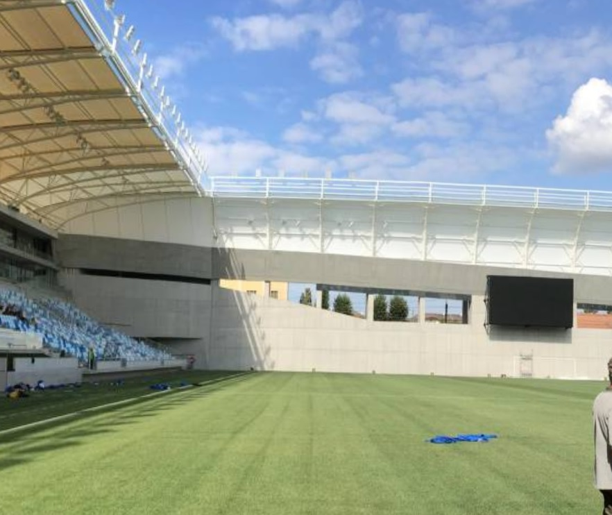 Hungarian Football Team MTK Budapest's New Stadium Sparks ...