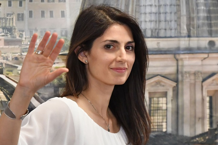 Newly elected mayor of Rome, Five Star Movement's candidate Virginia Raggi, gives a press conference after winning the mayoral election on June 19, 2016 at her campaign headquarters in Rome. AFP PHOTO / TIZIANA FABI / AFP / TIZIANA FABI (Photo credit should read TIZIANA FABI/AFP/Getty Images)