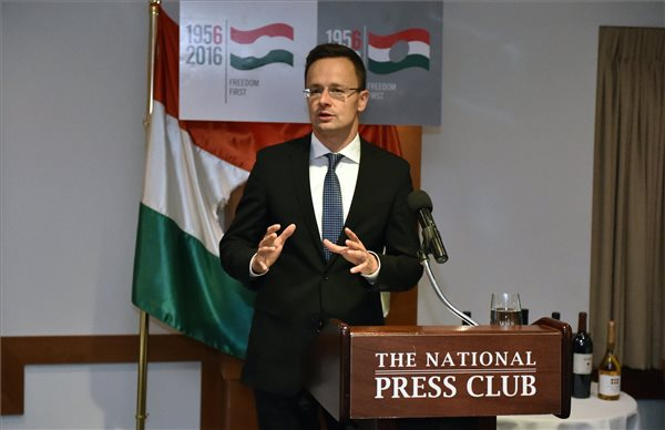 """""""Hungary Is The Home Of Freedom And Freedom Fighters"""" – Péter Szijjártó Said In Washington DC post's picture"""